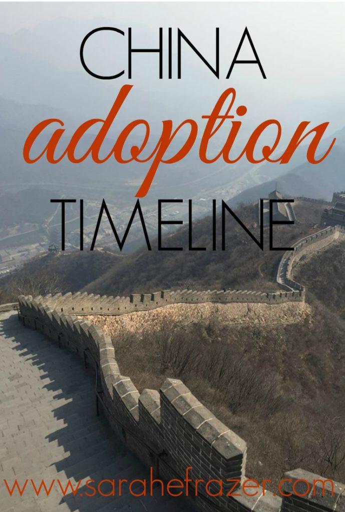 china adoption timeline - adoption timeline