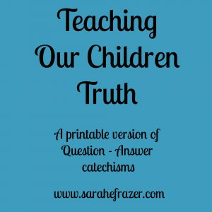 Teach Them Truth