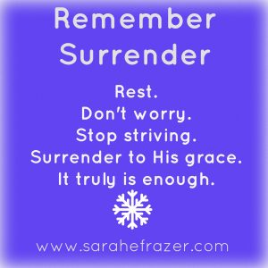 remember surrender