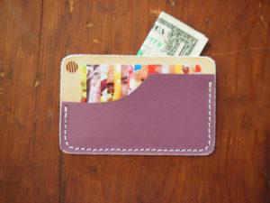 standard goods pocket wallet