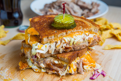 BBQ Pulled Pork Grilled Cheese 500 6343