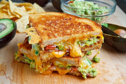 Bacon Guacamole Grilled Cheese Sandwich 500 1953