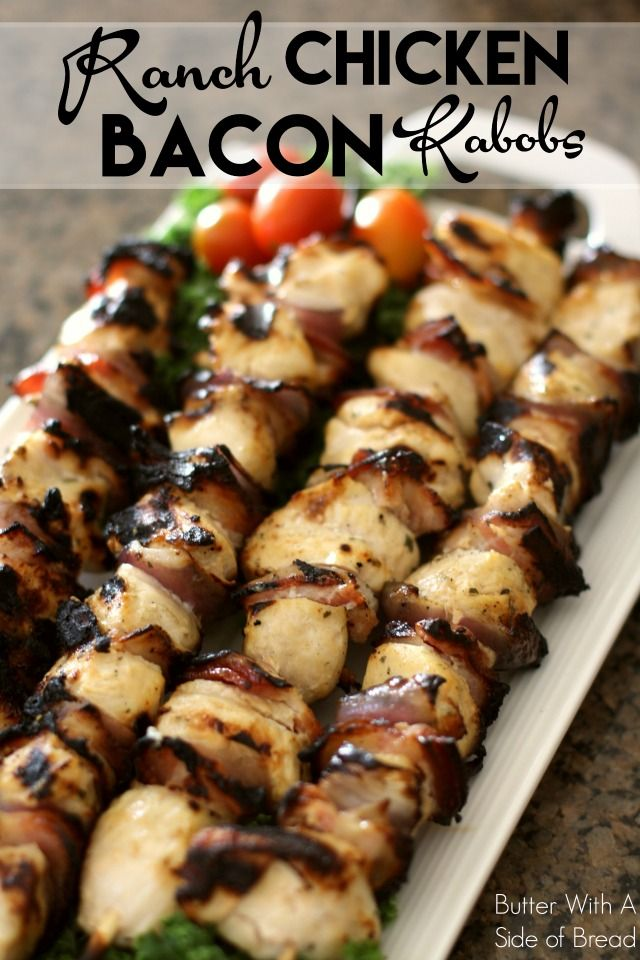 ranch bacon kabobs