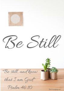 Be Still-2