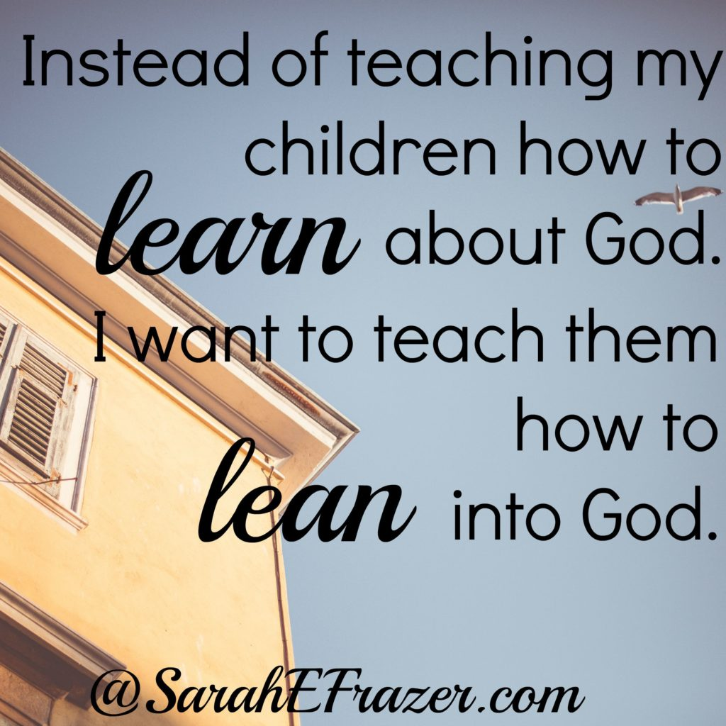 Lean not Learn