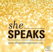 God Speaks at She Speaks