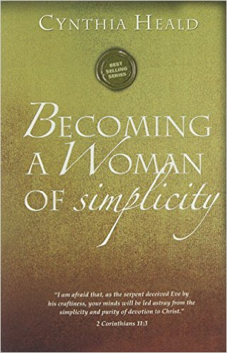 Becoming a woman of simplicty