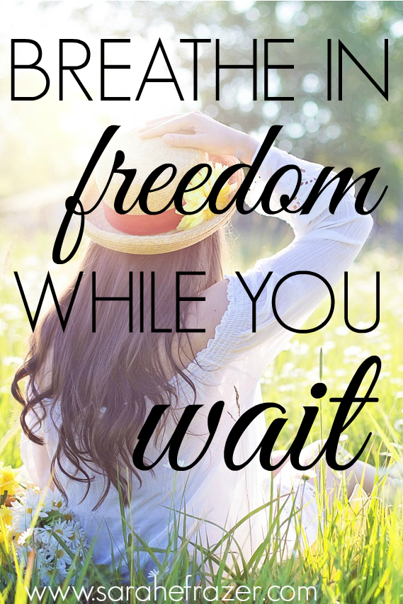Breathe In Freedom While You Wait