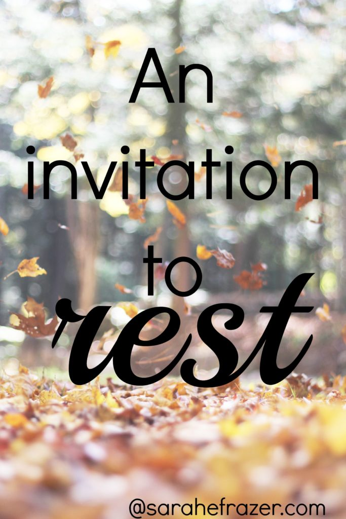 autumn leaves - invitation to rest2