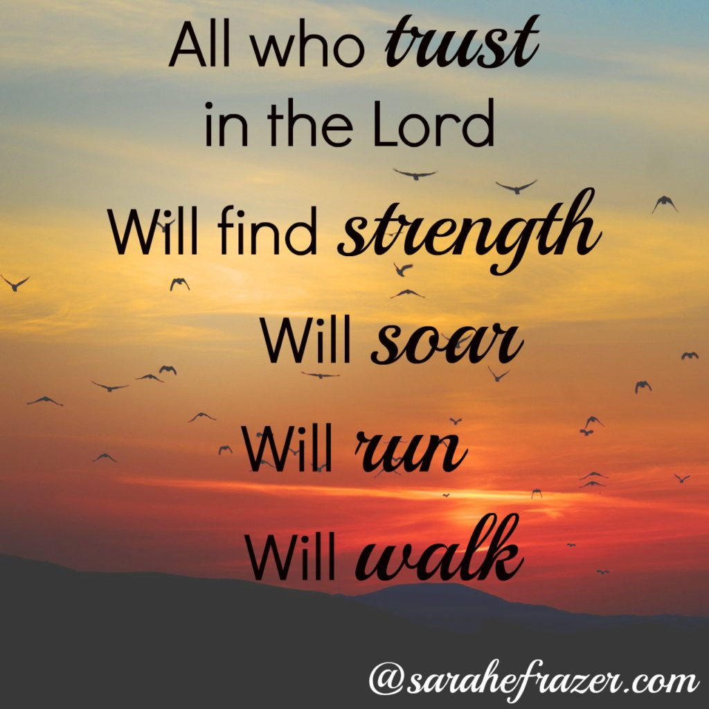All who Trust in the Lord