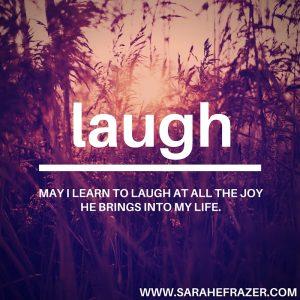 31 Days {Laugh}