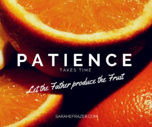 31 Days {Patience}