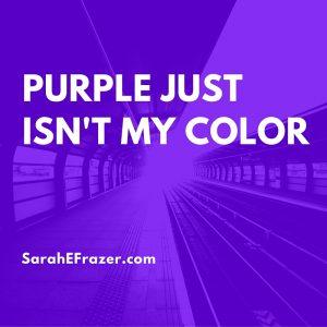 31 Days {Purple}