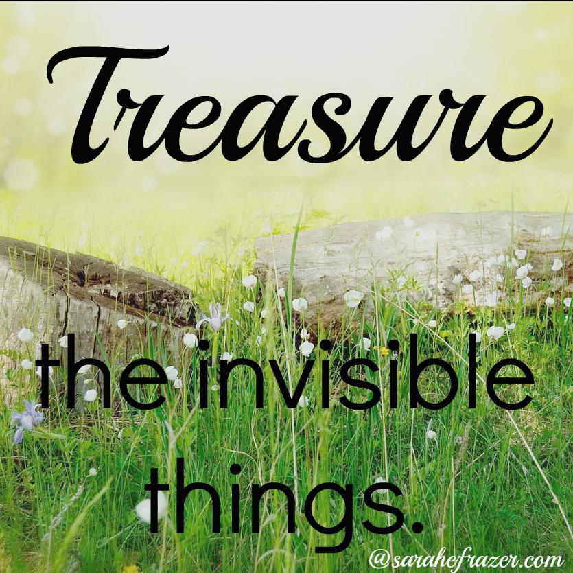 treasure the invisible