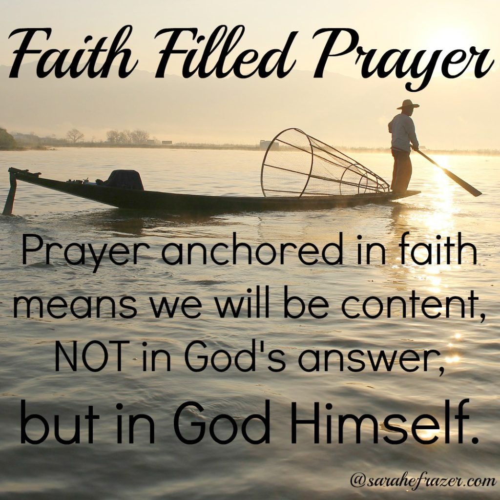 faith filled prayer