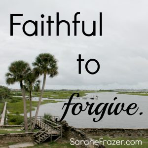 The Forgiven Are Faithful