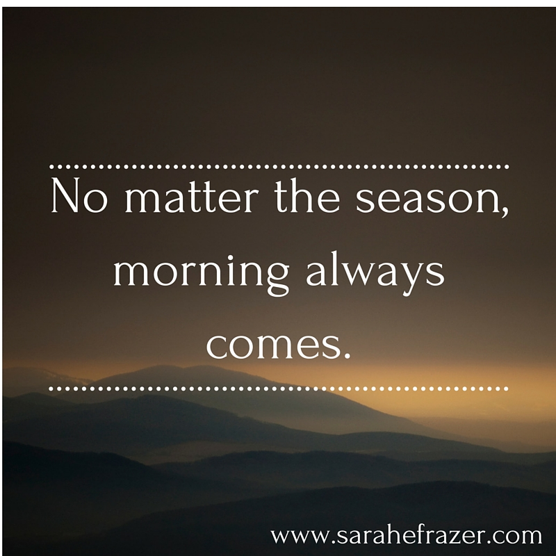 No matter the season, morning always comes.-2