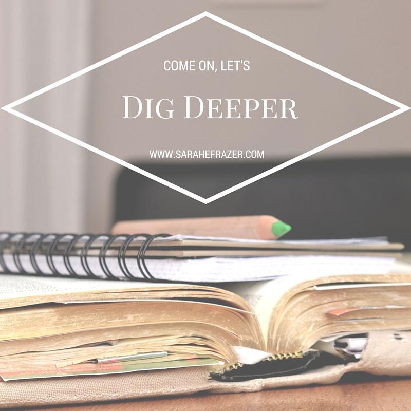 Dig Deeper Logo