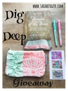 Dig Deeper Giveaway