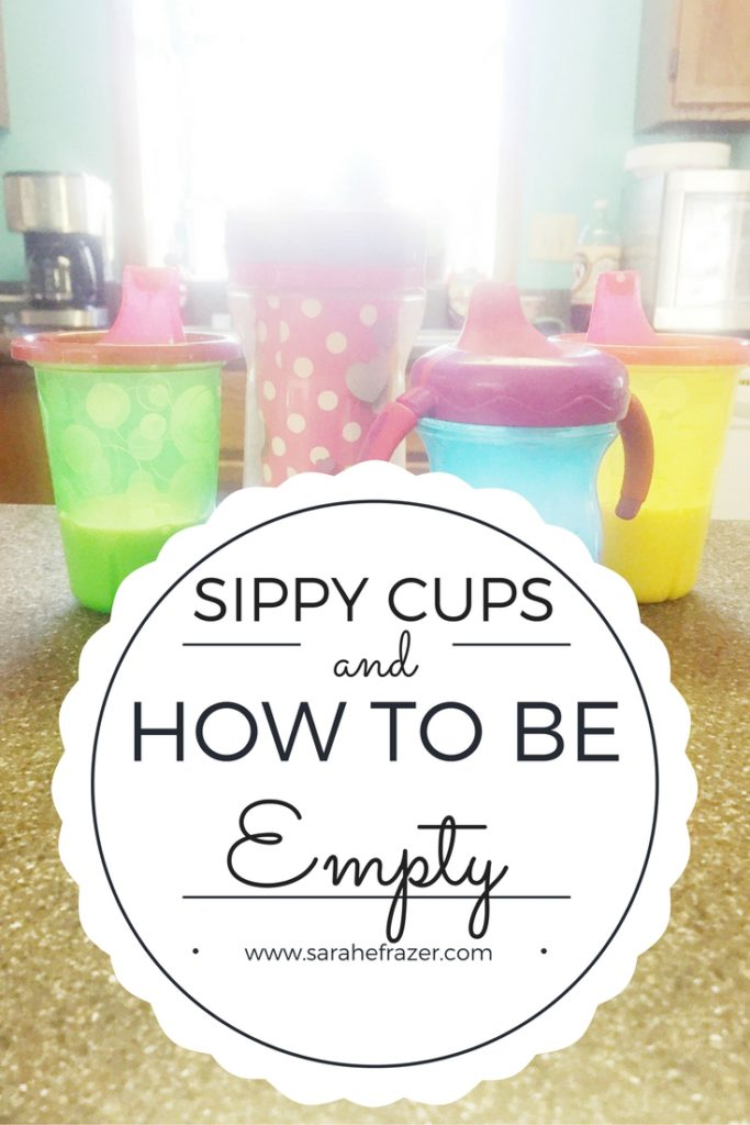 How to Be Empty - Encouragement for Mothers