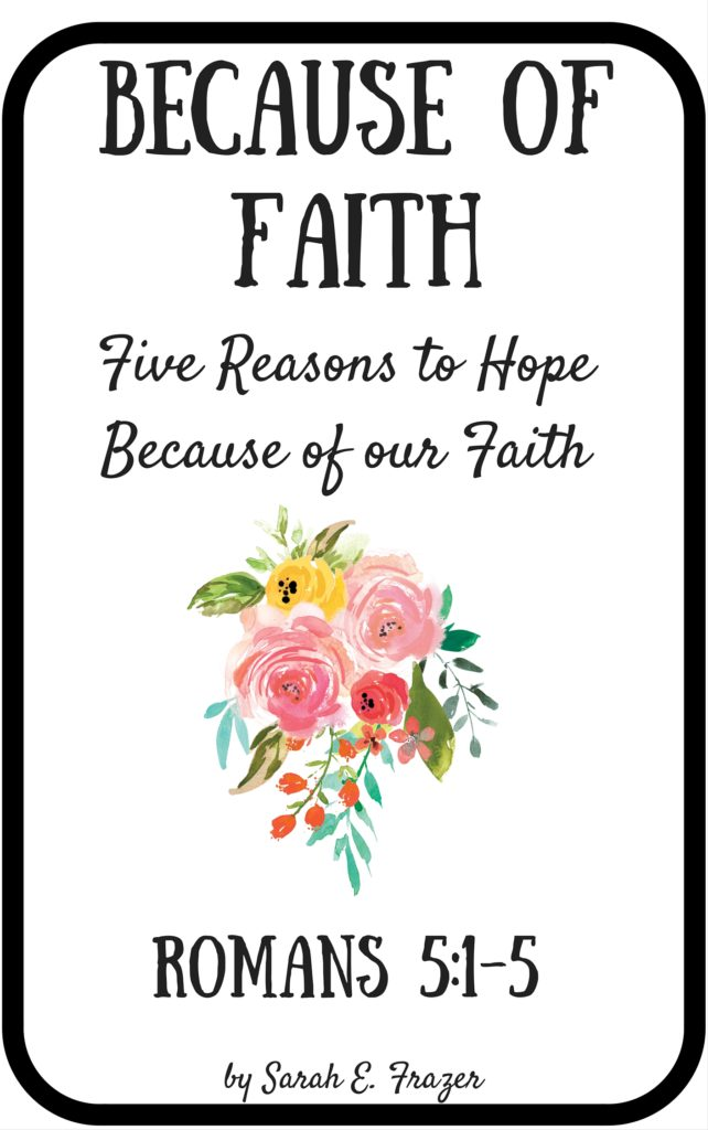 Because Of Faith Book Cover 3