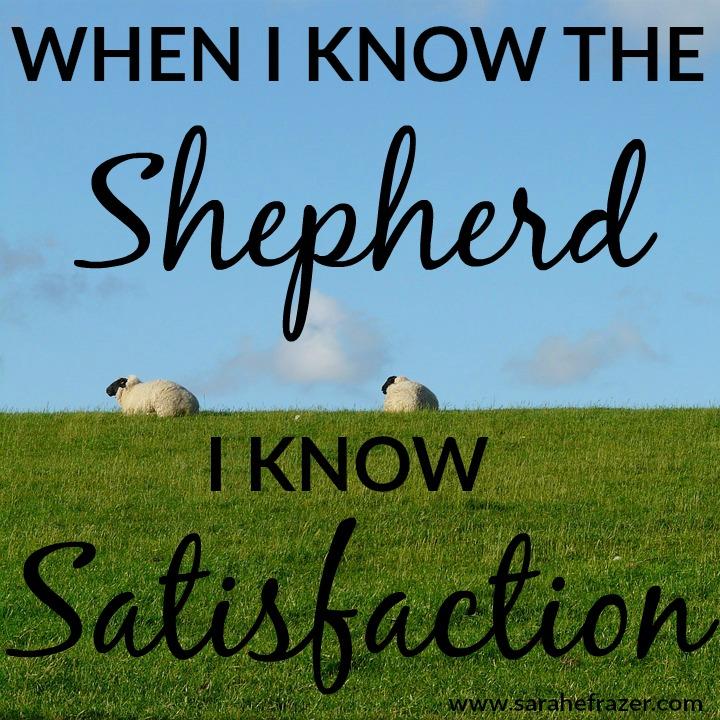 know the shepherd