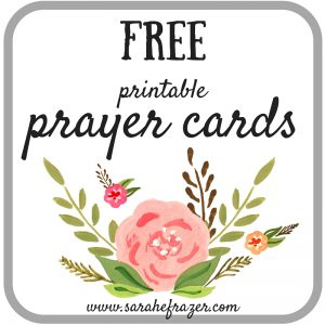 Printable Prayer Cards Issue 1 & #TuesTalk