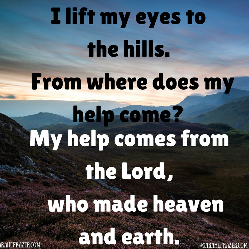 Psalm 121 Quotes from the Bible