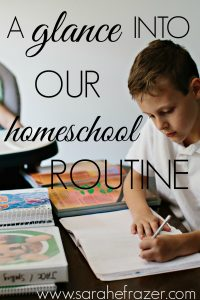How We Homeschool – August 2016