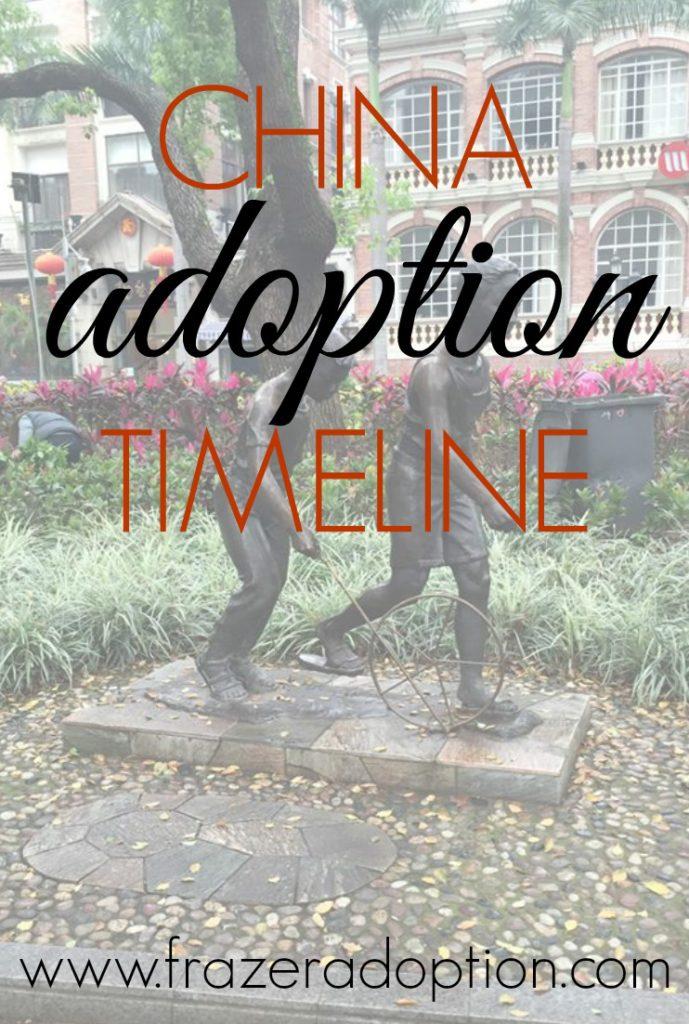 China adoption timeline - adoption timeline 2016