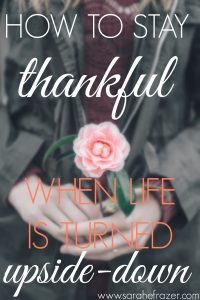 How to Stay Thankful Free Printable