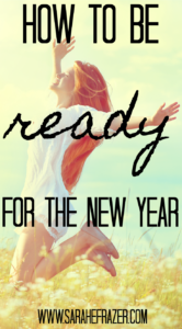 How To Be Ready for The New Year