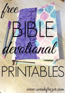 Free Bible Printables – Jan. 2016