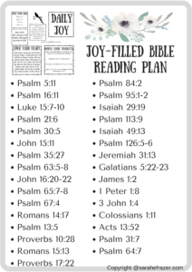 A Joy-Filled Reading Plan
