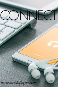 Five Minute Friday – Connect
