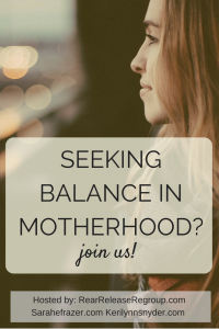 Motherhood: A Golden Key to Balance