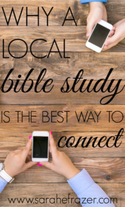 Why a Local Bible Study is the Best Way to Connect