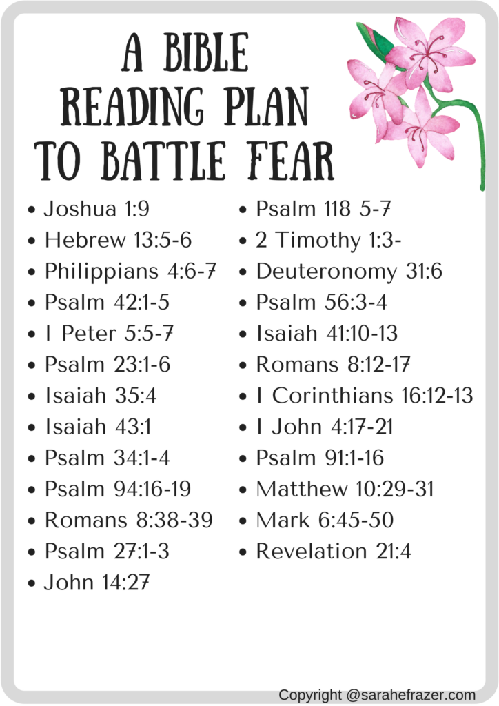 Fear, Anxiety and Worry… What does the Bible say ...