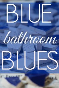 Blue Bathroom Blues