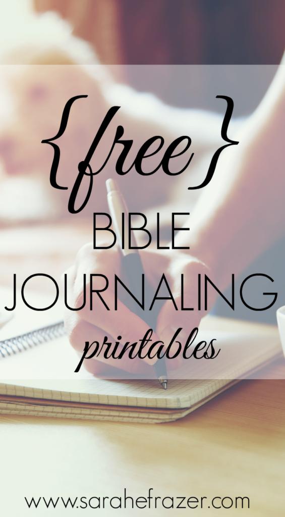 Bible Journaling Printables Sarah E Frazer