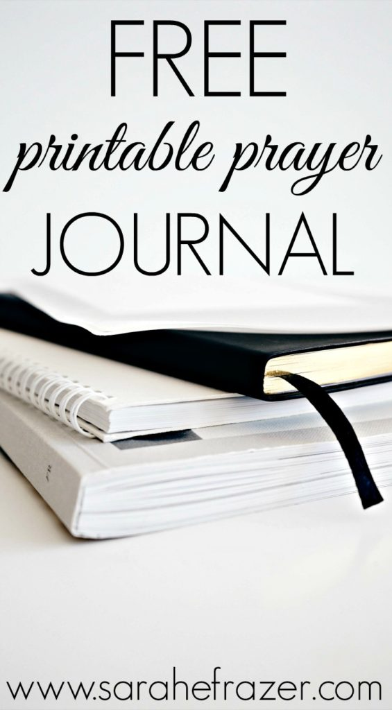Free Printable Prayer Journal