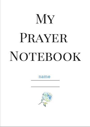 picture relating to Printable Prayer Journals referred to as Absolutely free Printable Prayer Magazine - Sarah E. Frazer