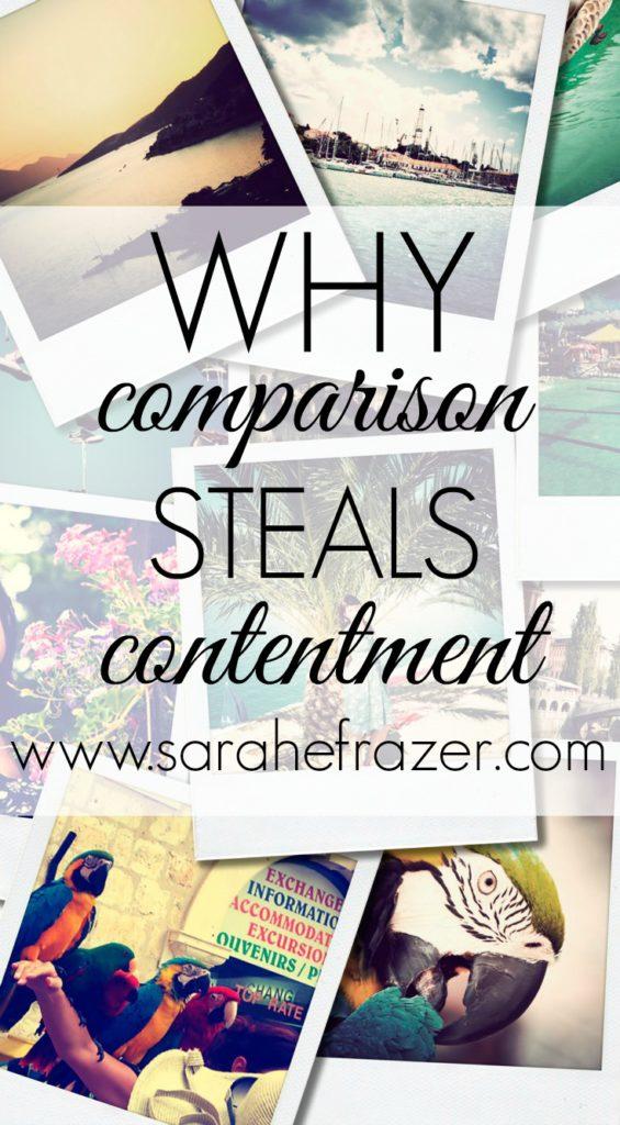 Why Comparison Steals Contentment