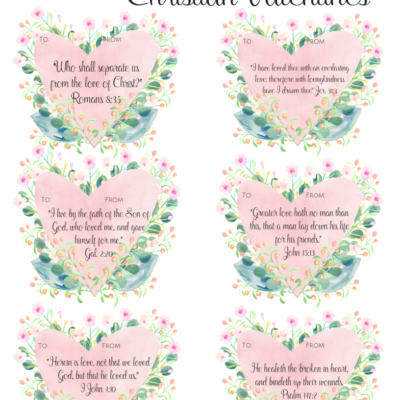 Free Printable Christian Valentines