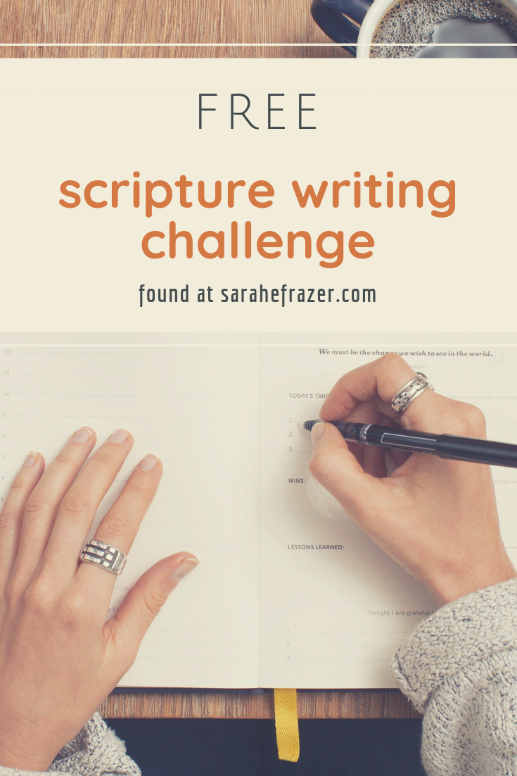 Scripture Writing Challenge: The Steadfast Love of God