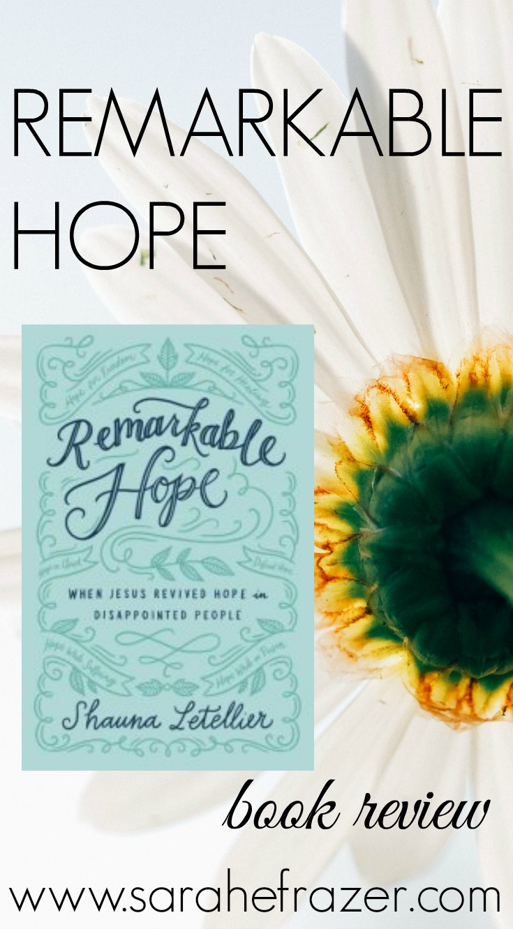 Remarkable Hope Book Review {Giveaway}