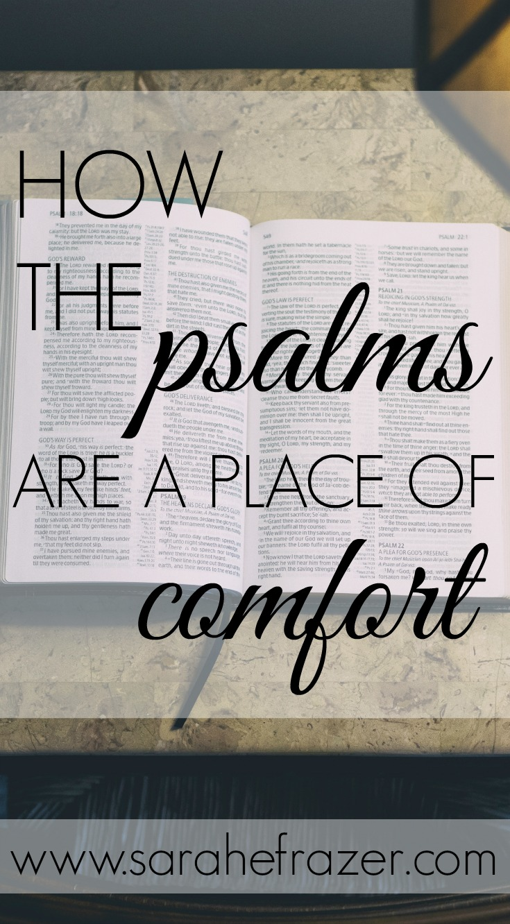 How the Psalms Are a Place of Comfort