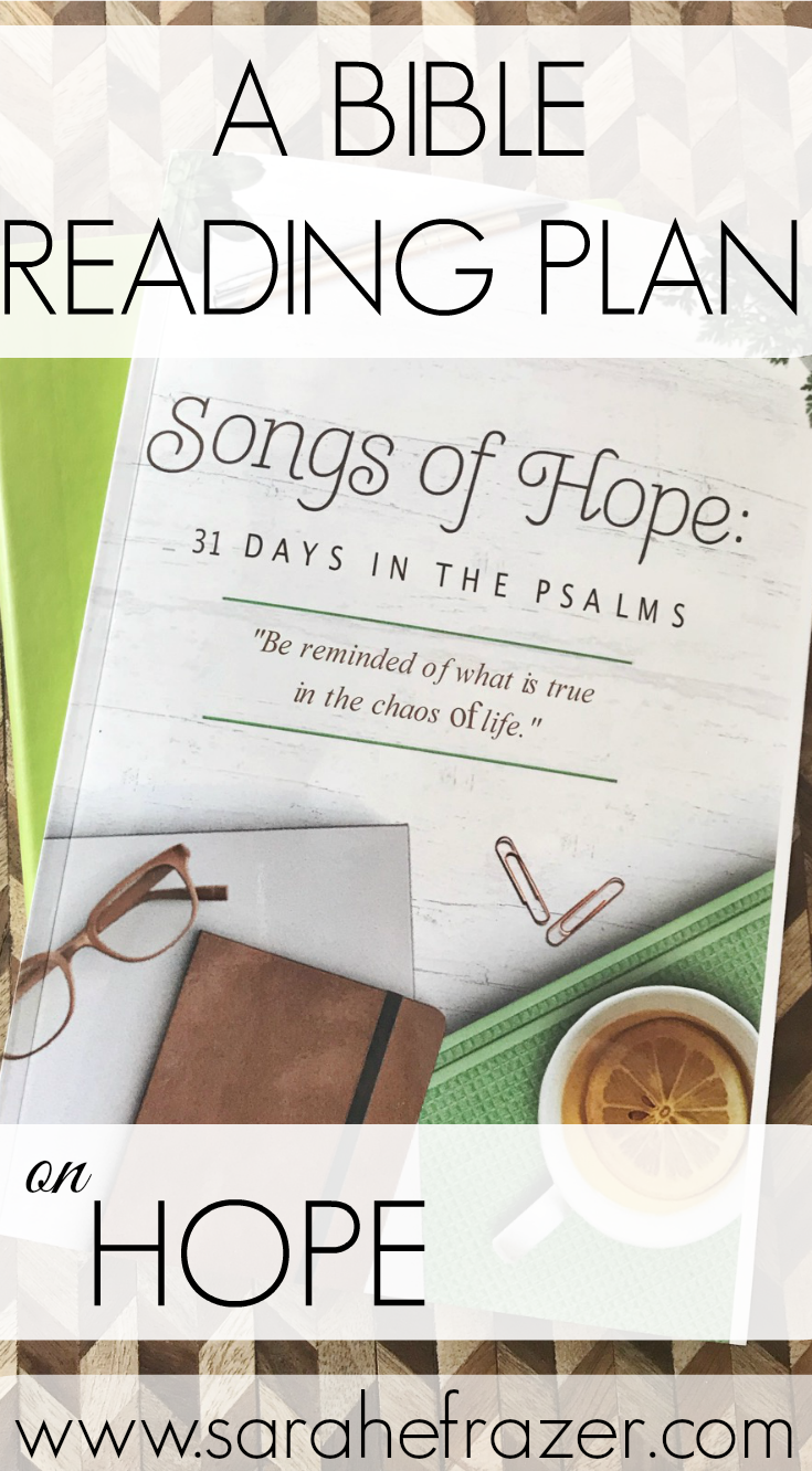 A Bible Reading Guide on Hope