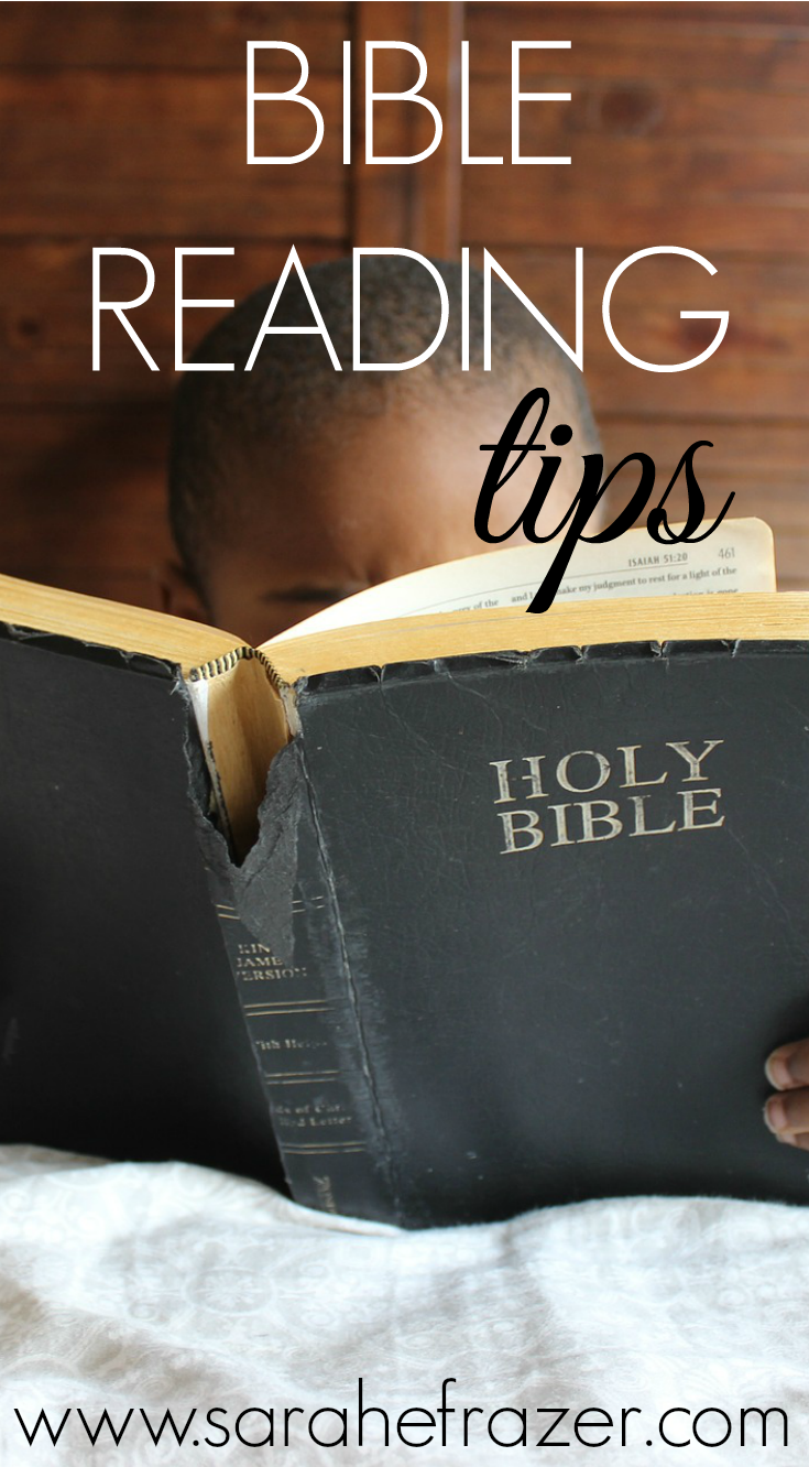 Ten Bible Reading Tips