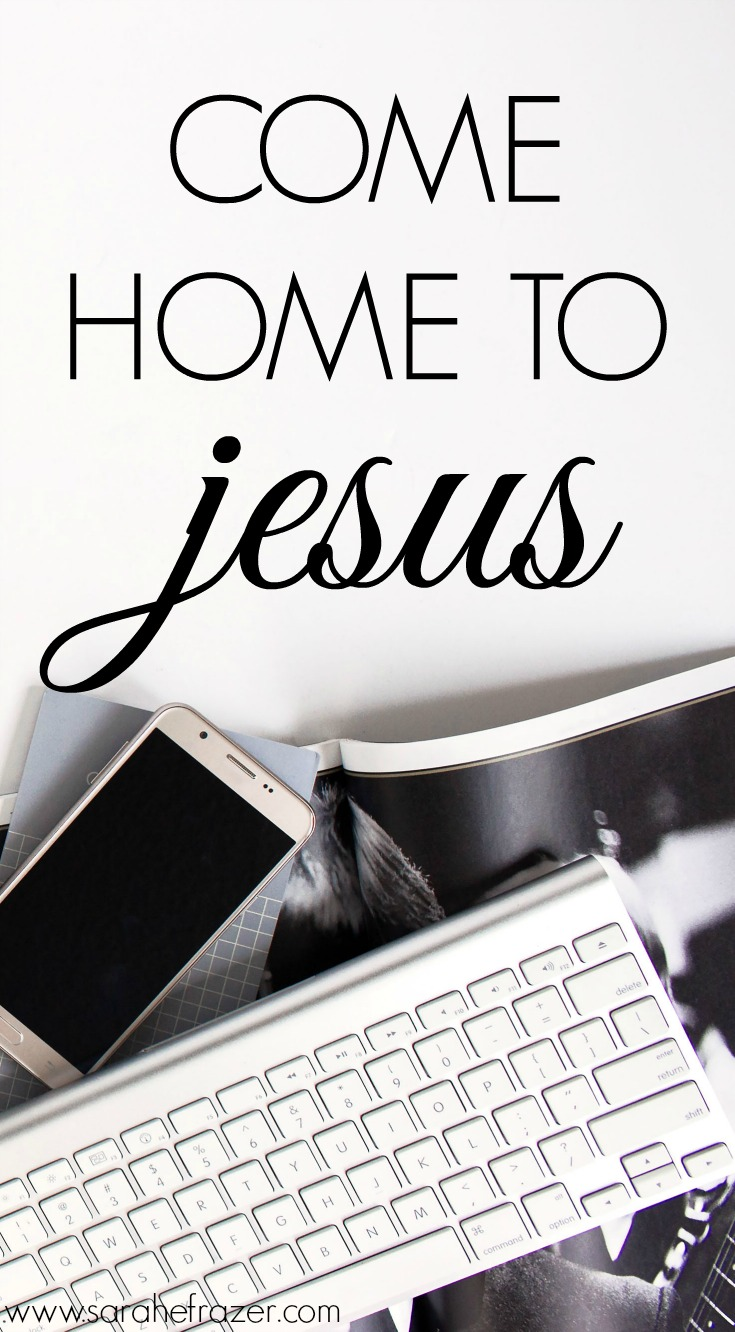Coming Home to Jesus